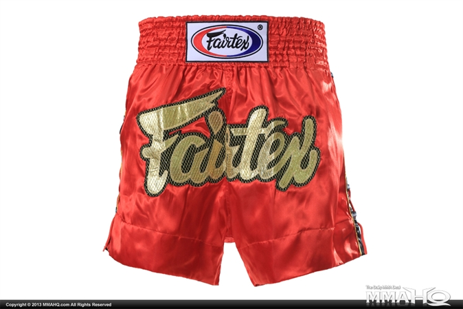 Fairtex Red Spider Muay Thai Shorts